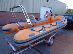 GRB nieuwe boot