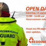Opendag reddingsbrigade 14 september